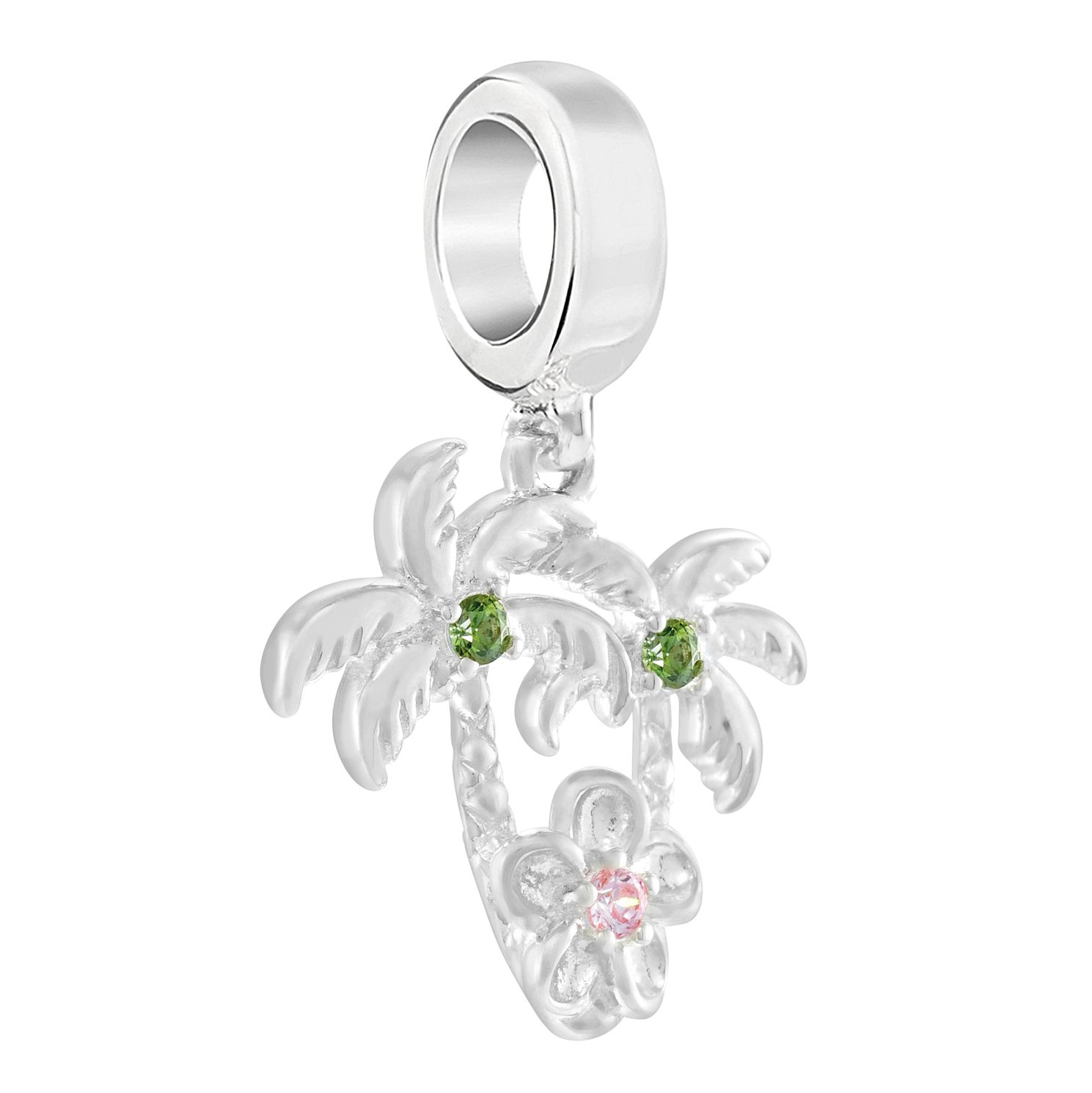Chamilia Plumeria Palm Trees Morganite Charm - Product number 3175235