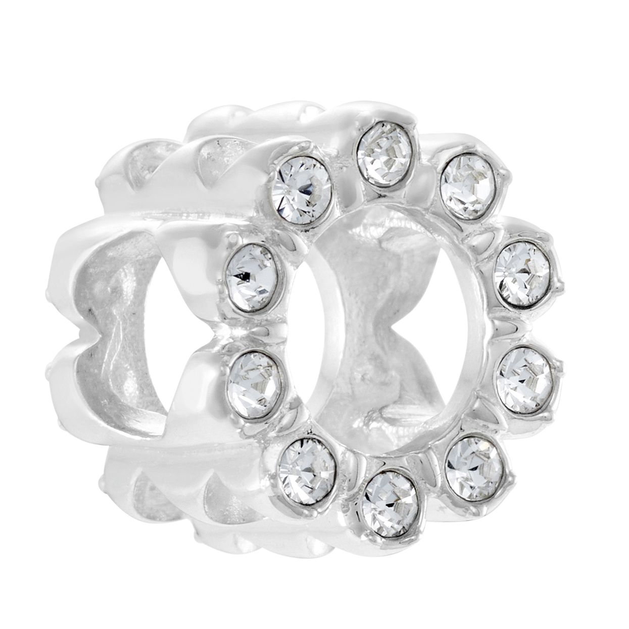 Chamilia Sparkle Blossom Swarovski Crystal Charm - Product number 3175278