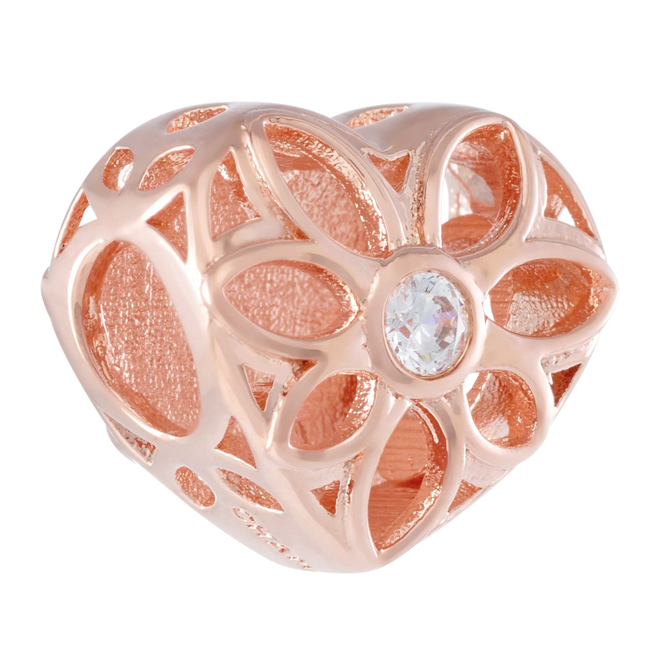 Chamilia Blush Love Heart Charm - Product number 3175464