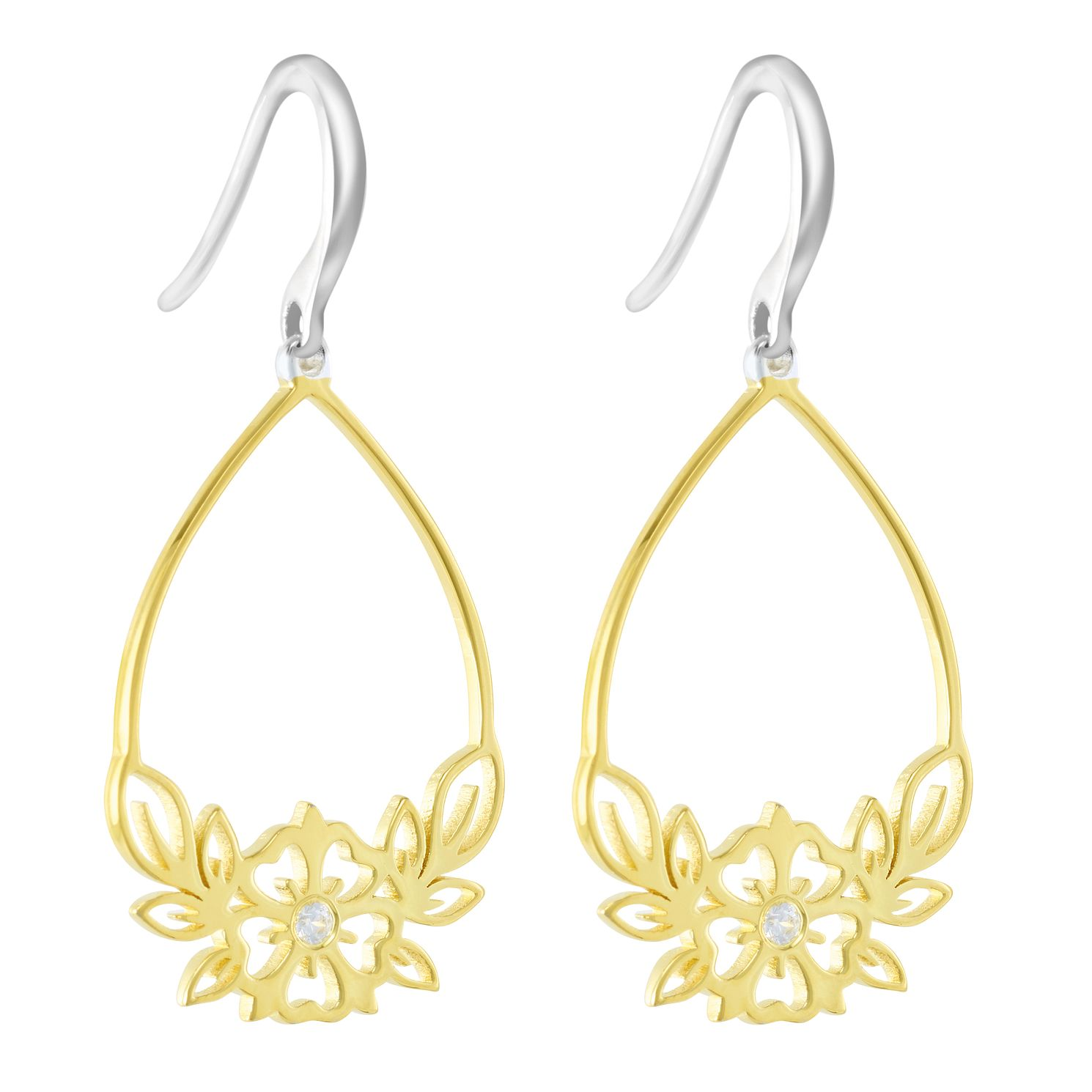 Chamilia Open Hibiscus Drop Earrings - Product number 3175529