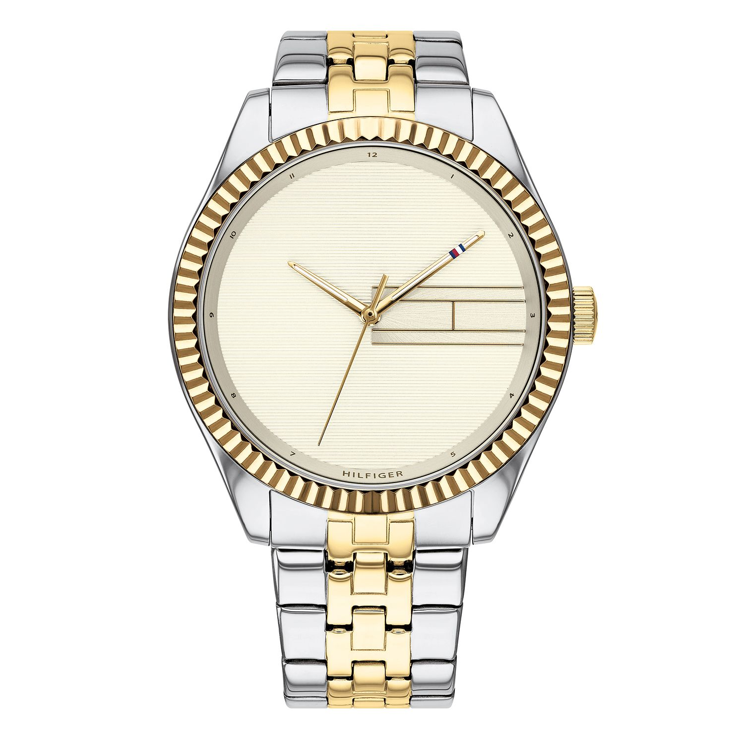 Tommy Hilfiger Lee Ladies' Two Tone Bracelet Watch - Product number 3175839