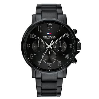 Tommy Hilfiger Daniel Men's Black IP Bracelet Watch - Product number 3175901