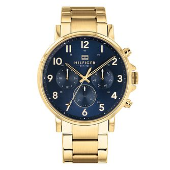 Tommy Hilfiger Daniel Men's Gold Plated Bracelet Watch - Product number 3175944