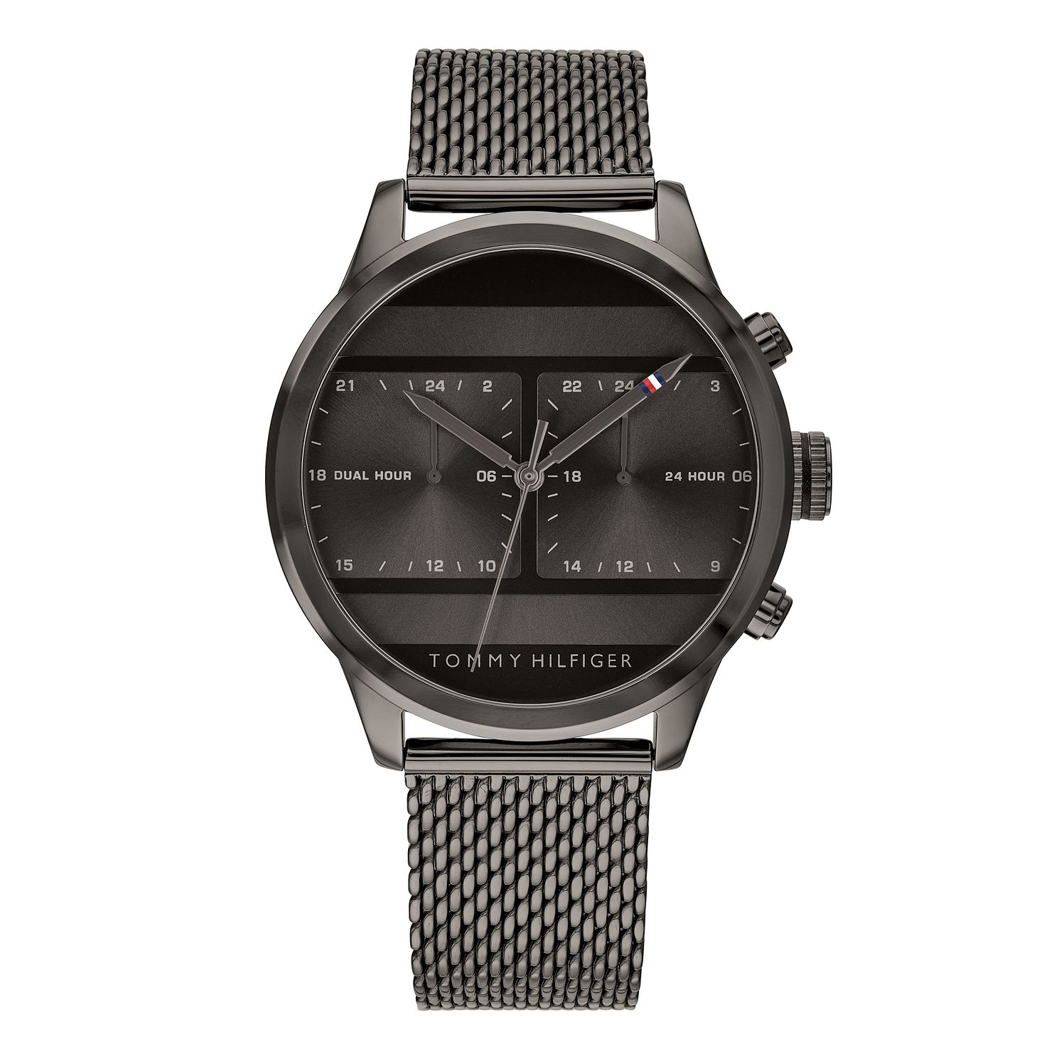 Tommy Hilfiger Icon Men's Black Ion Plated Bracelet Watch - Product number 3175995