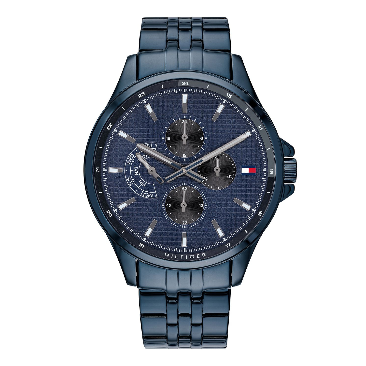 Tommy Hilfiger Men's Blue IP Bracelet Watch - Product number 3176029
