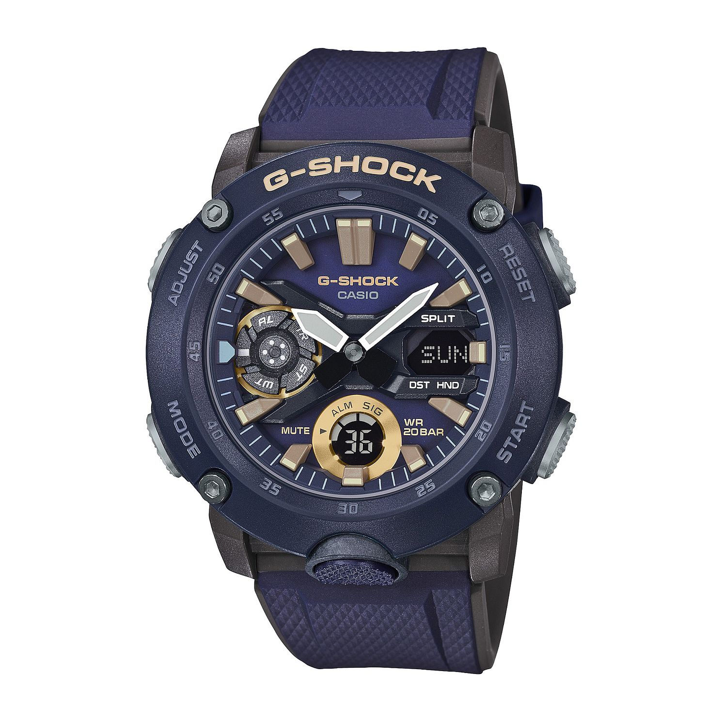 Casio G-SHOCK Carbon Core Guard Men's Blue Strap Watch - Product number 3177394