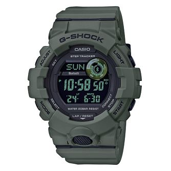 Casio G-Shock Tracker Men's Green Resin Strap Watch - Product number 3177424