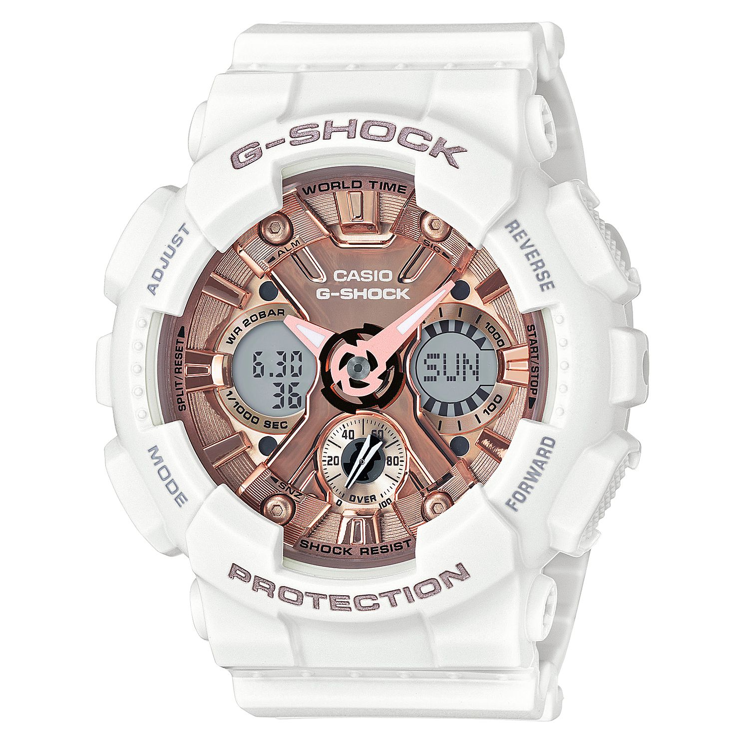 Casio G-SHOCK White Resin Strap Watch - Product number 3177521