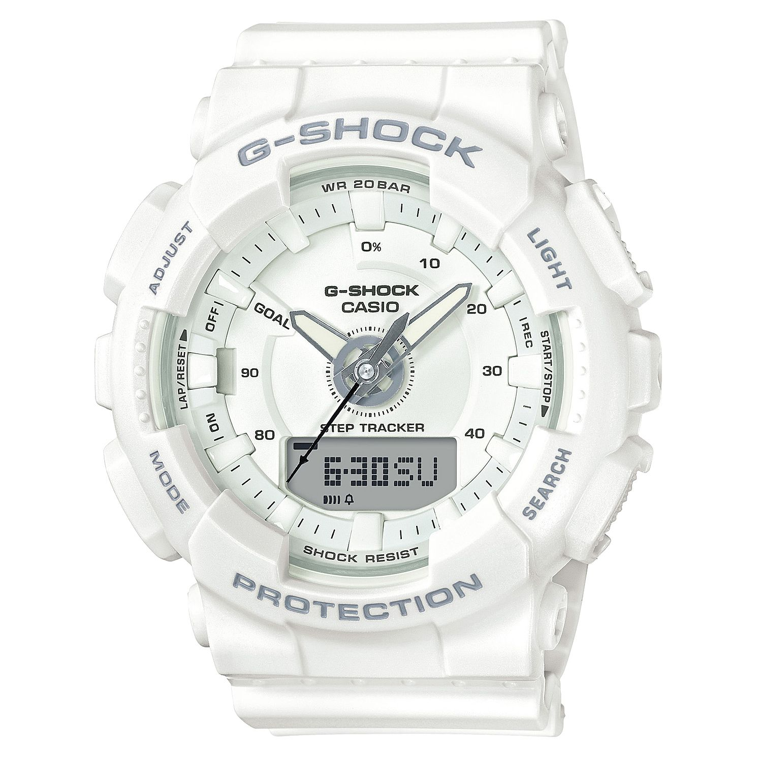 Casio G-SHOCK White Resin Strap Watch - Product number 3177556