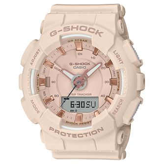 Casio G-SHOCK Dusty Pink Resin Strap Watch - Product number 3177572