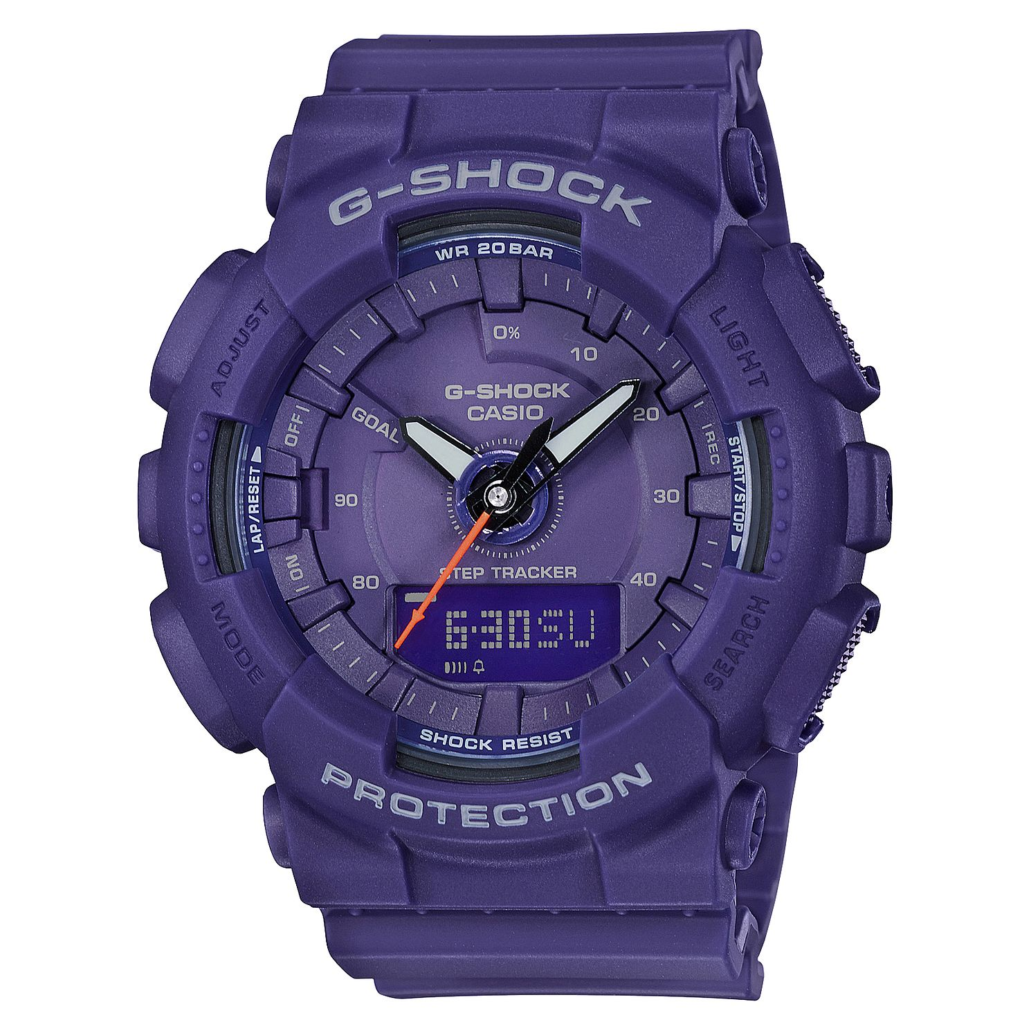 Casio G-SHOCK Purple Resin Strap Watch - Product number 3177831