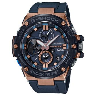 Casio G-SHOCK G-STEEL Men's Blue Resin Strap Watch - Product number 3177858