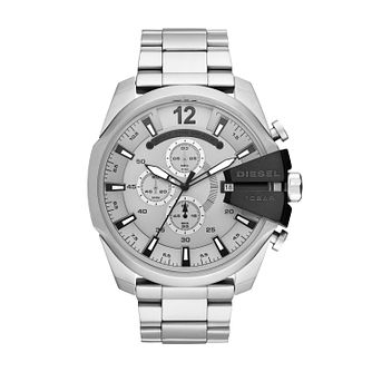 Diesel Mega Chief Men's Stainless Steel Bracelet Watch - Product number 3178757
