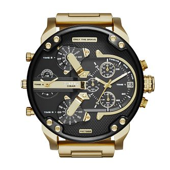 Diesel Mr Daddy 2.0 Men's Gold Tone Bracelet Watch - Product number 3178838