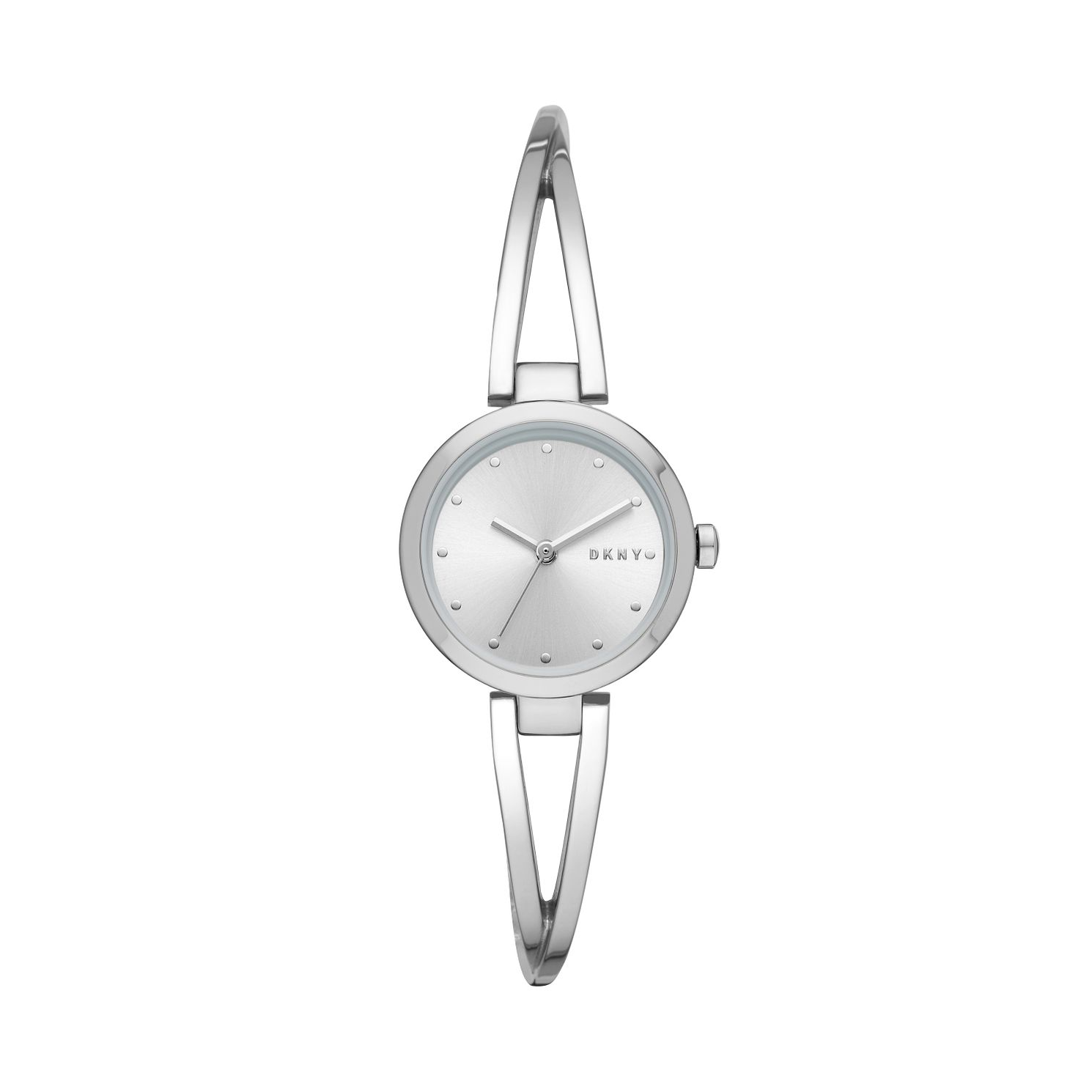 DKNY Crosswalk Ladies' Stainless Steel Bangle Watch - Product number 3178854