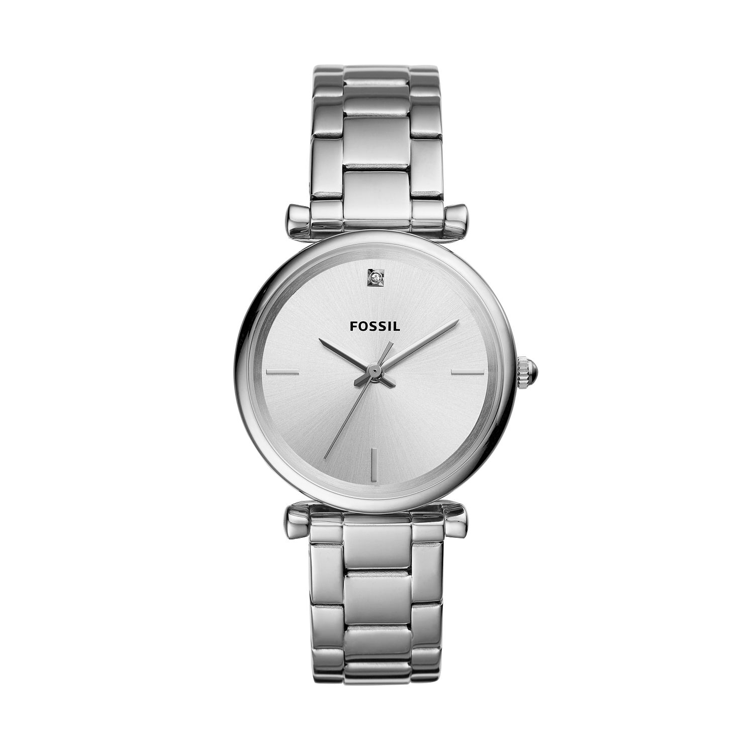 Fossil Carlie Ladies' Stainless Steel Bracelet Watch - Product number 3179486
