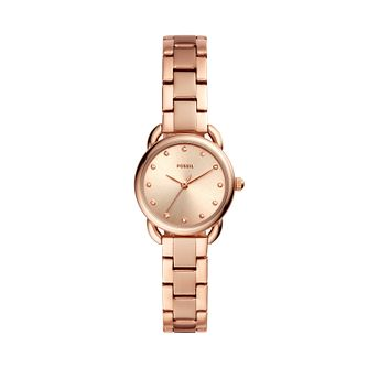 Fossil Tailor Mini Ladies' Rose Gold Tone Bracelet Watch - Product number 3179524