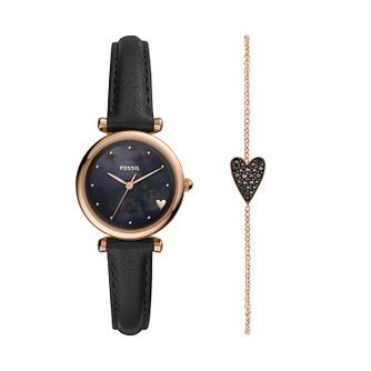 Fossil Carlie Ladies' Mini Watch & Bracelet Gift Set - Product number 3179575