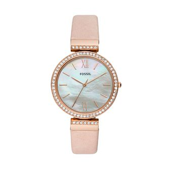 Fossil Madeline Ladies' Pink Leather Strap Watch - Product number 3179648