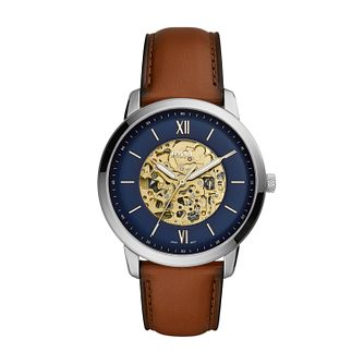 Fossil Neutra Men's Brown Leather Strap Watch - Product number 3179745