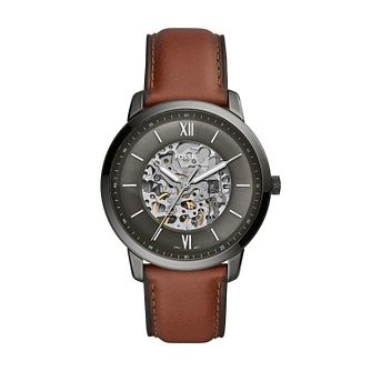 Fossil Neutra Men's Amber Leather Strap Watch - Product number 3179753