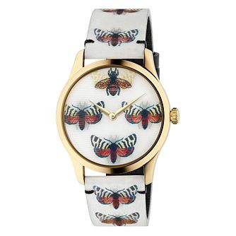 Gucci G-Timeless White Hologram Strap Watch - Product number 3181618