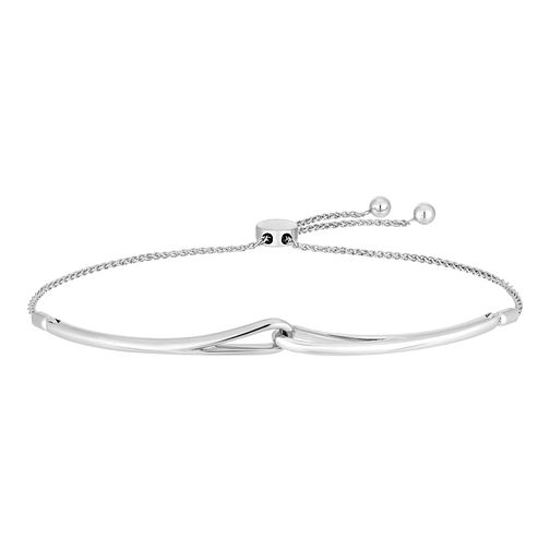 Love & Be Loved Sterling Silver Adjustable Bracelet - Product number 3184056