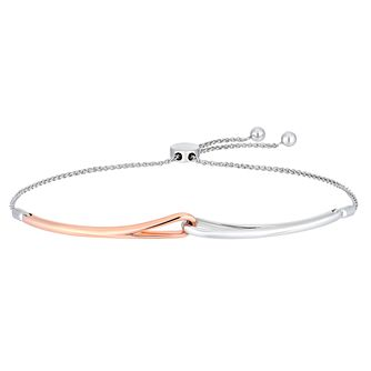 Love & Be Loved Two-Tone Adjustable Bracelet - Product number 3184102