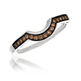Le Vian 14ct Vanilla Gold 0.14ct Chocolate Diamond Ring - Product number 3189686