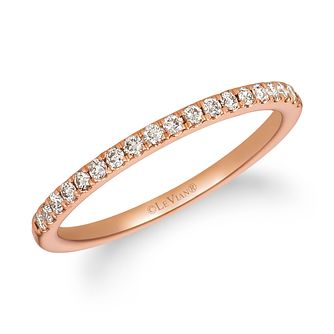 Le Vian 14ct Strawberry Gold 0.18ct Vanilla Diamond Ring - Product number 3190153