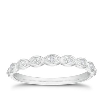 Platinum Diamond Bobble Shape Band - Product number 3225216