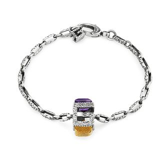 Gucci G-Cube Silver Synthetic Citrine Bracelet - Product number 3234789