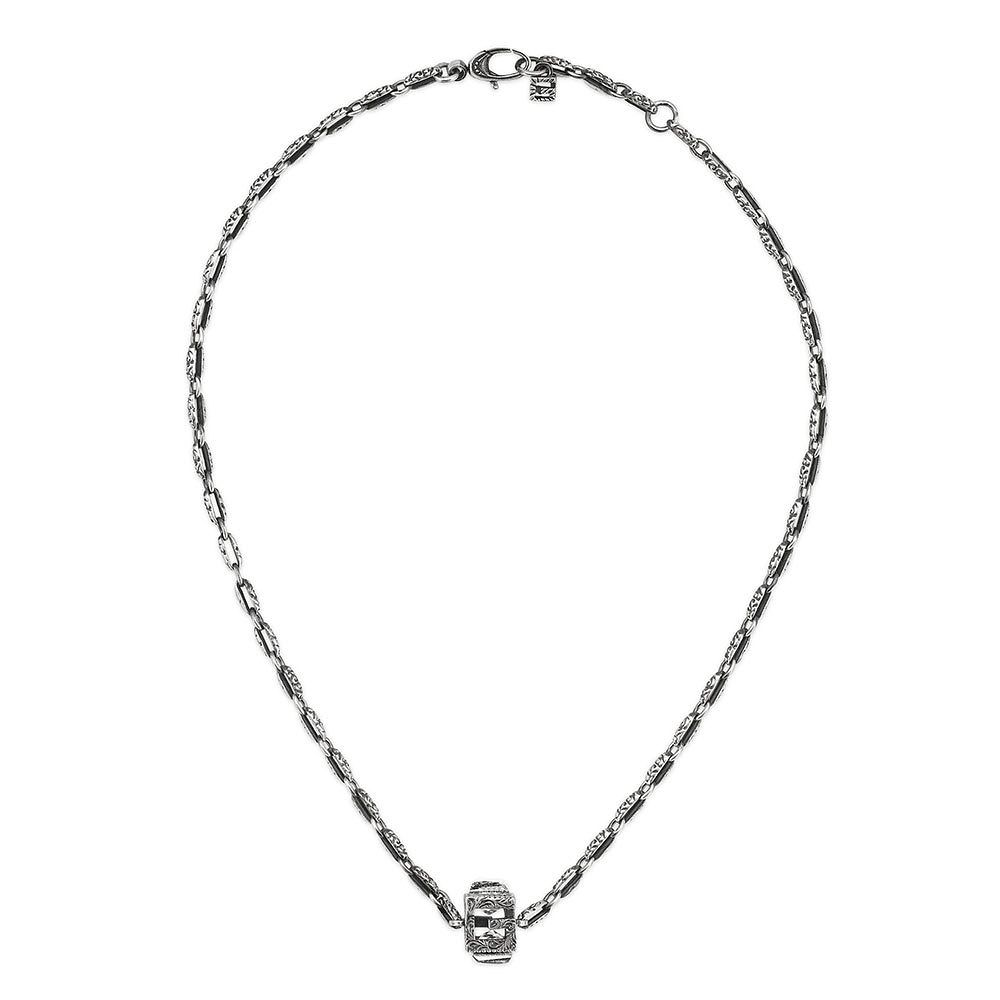Gucci G-Cube Silver Synthetic Crystal Pendant - Product number 3234800