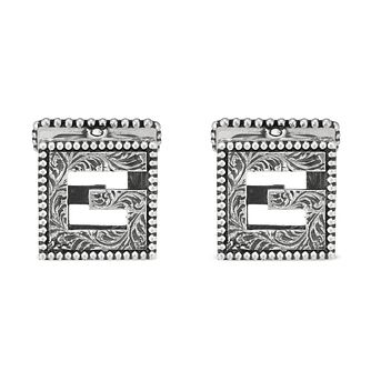Gucci G-Cube Silver Cufflinks - Product number 3234827