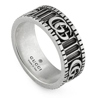 Gucci Ladies' Silver Marmont Ring - Size 13 - Product number 3234908