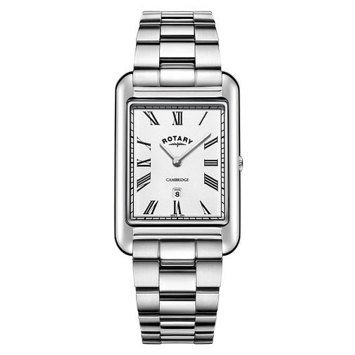 Rotary Cambridge Men's Rectangular Bracelet Watch - Product number 3235149