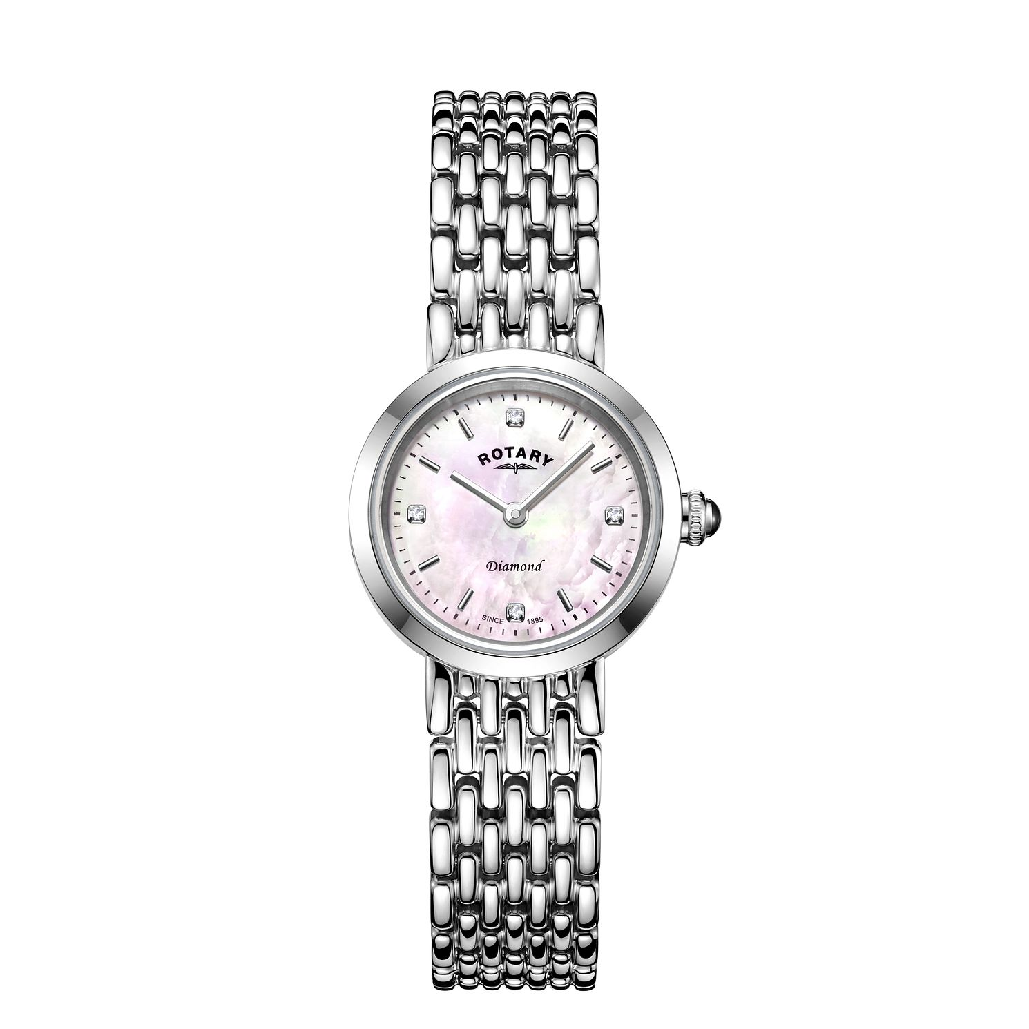 Rotary Balmoral Ladies' Stainless Steel Bracelet Watch - Product number 3235211