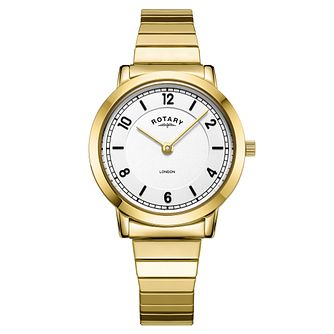 Rotary London Ladies' Gold Plated Bracelet Watch - Product number 3235297
