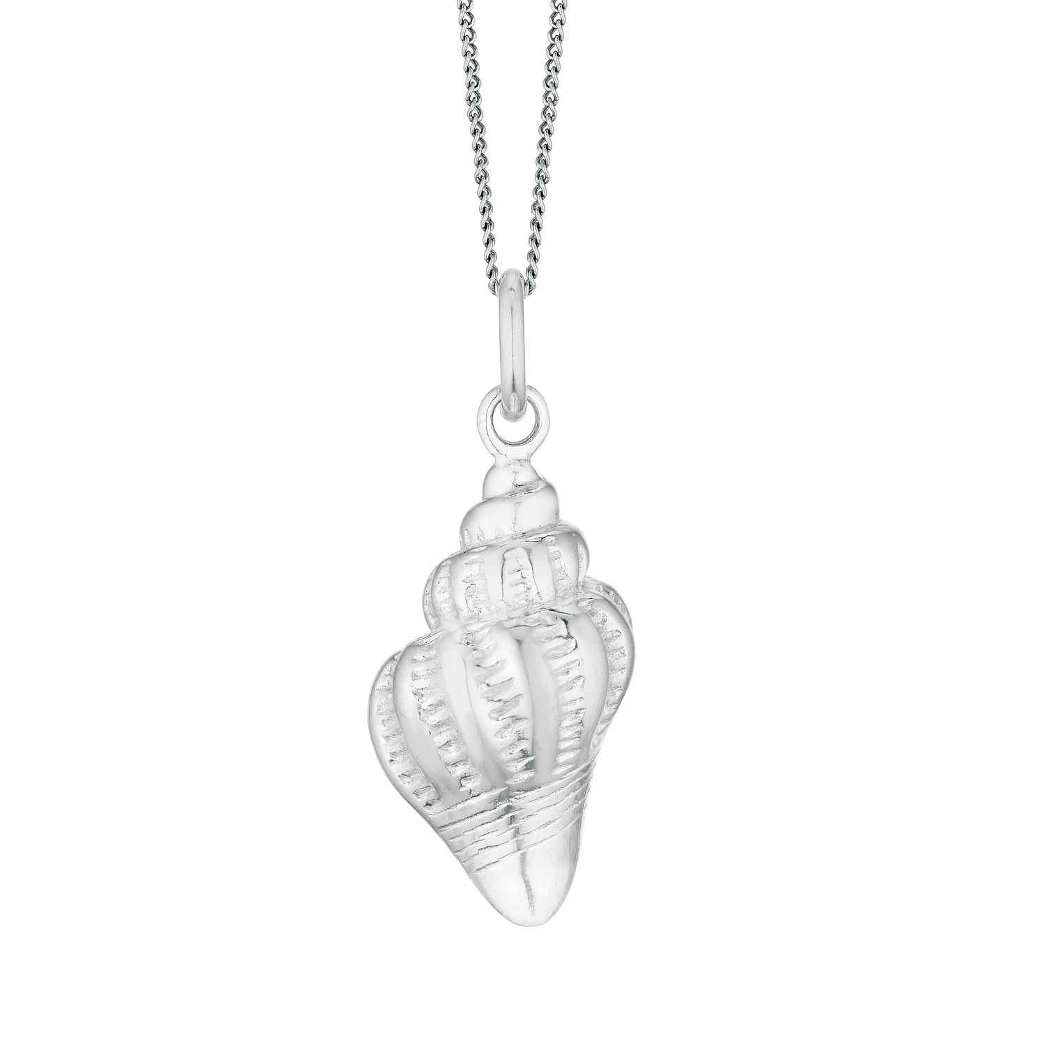 Silver Sea Shell Pendant - Product number 3236021