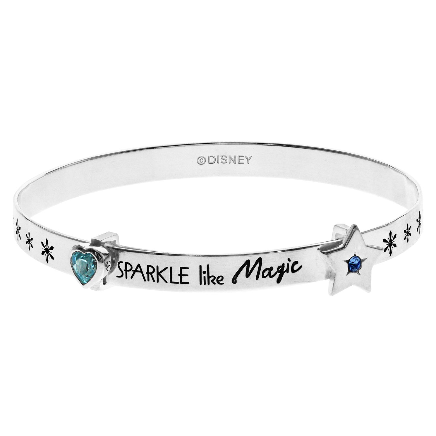 Disney Children's Frozen Silver 'Sparkle Like Magic' Bangle - Product number 3260801