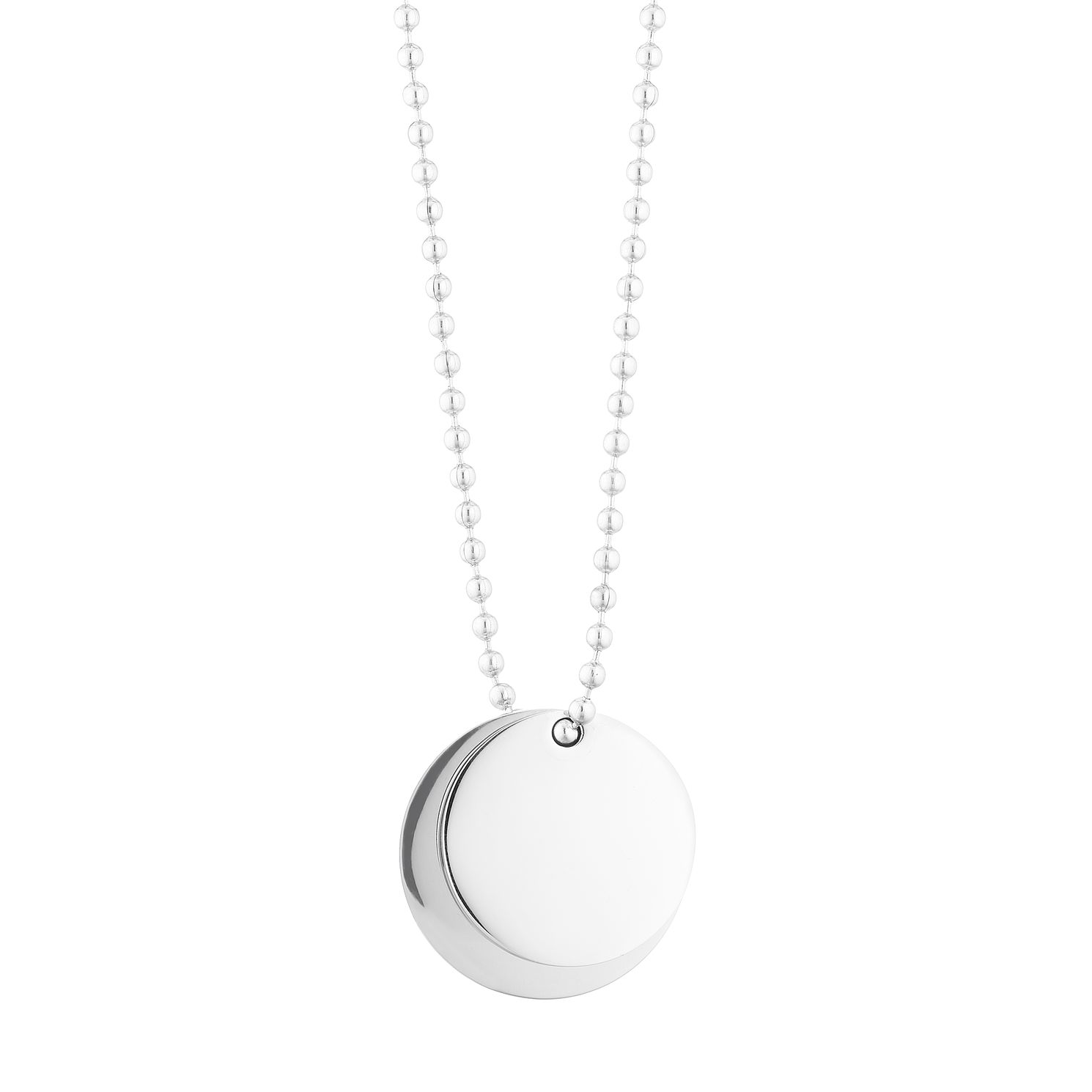 Stainless Steel Round Tags Pendant - Product number 3267210