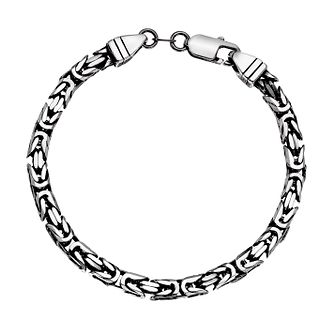Silver 925 8.5 inches Byzantine Bracelet - Product number 3271145