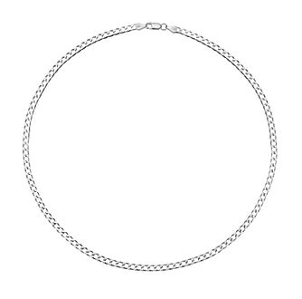 Sterling Silver 20 Inch Curb Chain - Product number 3271196