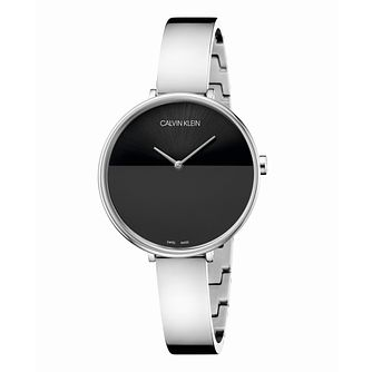 Calvin Klein Rise Ladies' Stainless Steel Bangle Watch - Product number 3272443