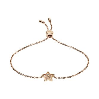 Emporio Armani Rose Gold tone Astrology Star Bracelet - Product number 3274012