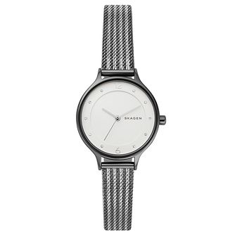 Skagen Anita Ladies' Two Tone Mesh Bracelet Watch - Product number 3275922