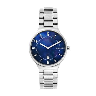 Skagen Grenen Men's Stainless Steel Bracelet Watch - Product number 3276023