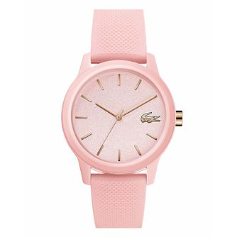 Lacoste 12.12 Ladies' Pink Silicone Strap Watch - Product number 3276309