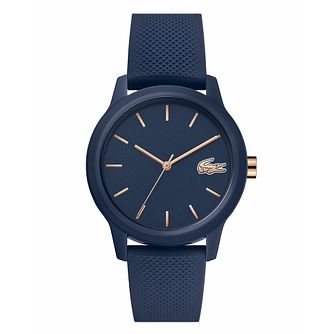 Lacoste 12.12 Ladies' Blue Silicone Strap Watch - Product number 3276325
