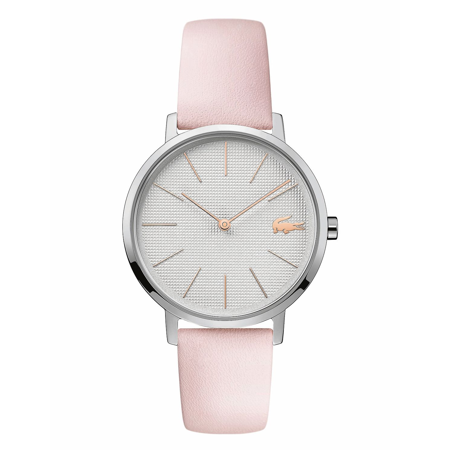 Lacoste Moon Ladies' Pink Leather Strap Watch - Product number 3276333